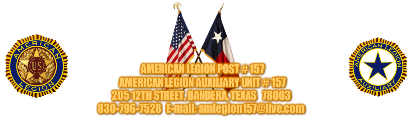 American Legion Post 157 Bandera